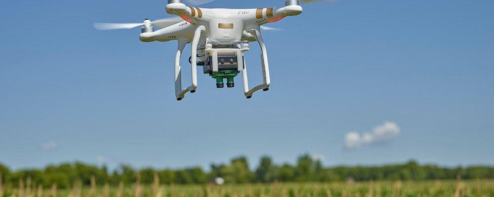 Sentera's NDVI sensor turns a basic DJI drone into a precision