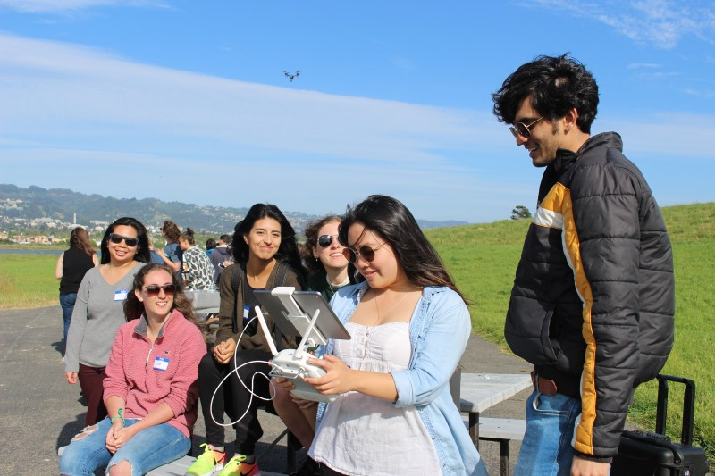 DroneDeploy girls who drone girls in tech Samantha Salis