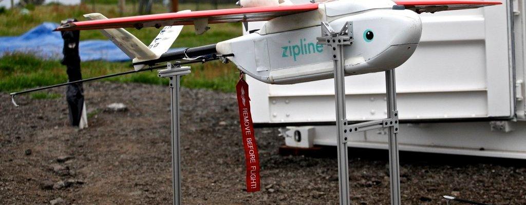 zipline tanzania drone delivery