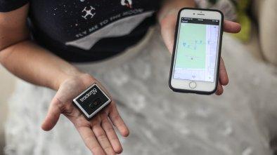 trackimo gps drone tracker