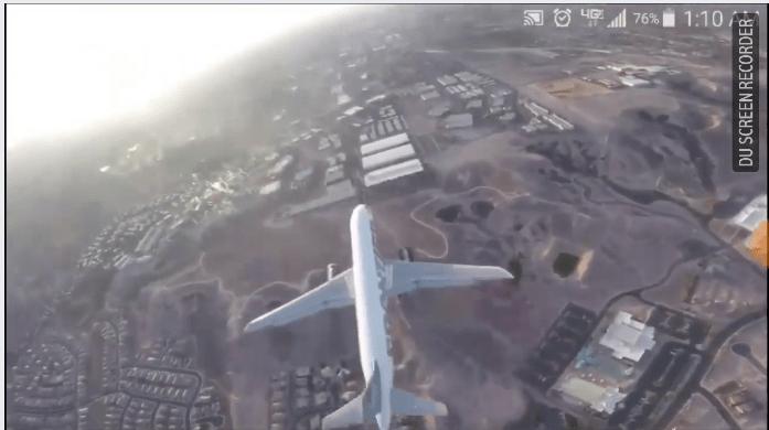 drone airplane mccarran vegas