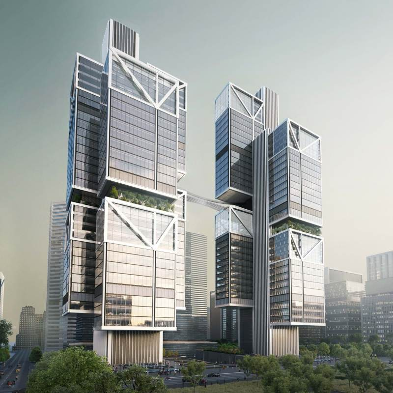 DJI headquarters china drone shenzhen hq foster partners