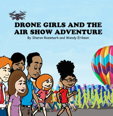drone books air show kids stem sharon rossmark
