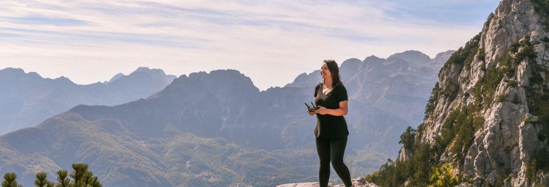 Heather Butler drone travel tips foreign country international mavic dji girl woman