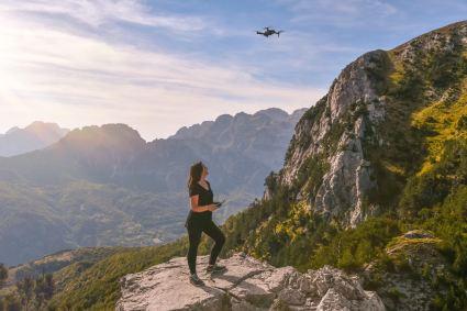 Heather Butler drone girl pilot DJI Mavic international travel tips