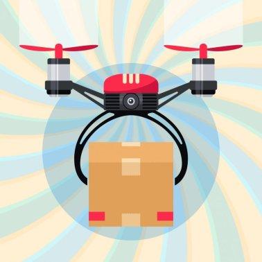 flirtey drone delivery illustration drone startups 2019