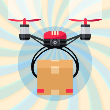 flirtey drone delivery illustration drone startups 2019