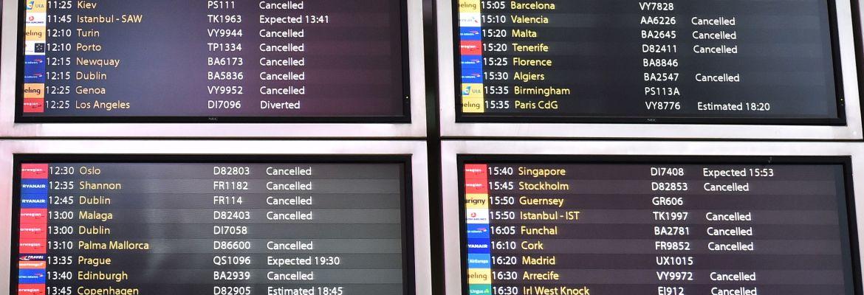 Gatwick drone airport disruption delayed