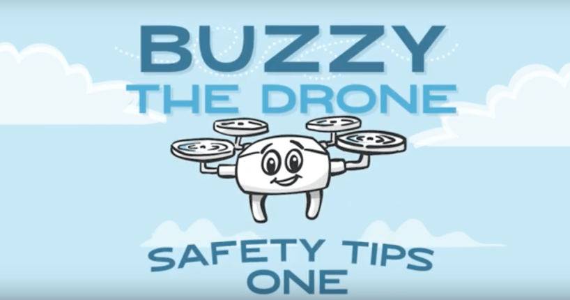 Buzzy the Drone FAA safety uas