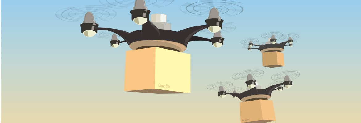 Airmap partnerships drone delivery utm