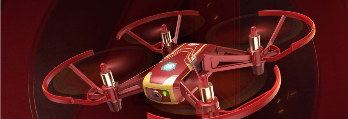 Iron Man Tello drone DJI Ryze Disney Marvel