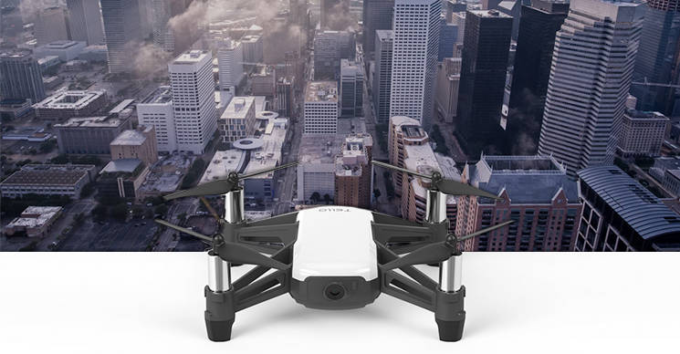 IBM free Tello drones 1,500 dronedrop DJI Ryze