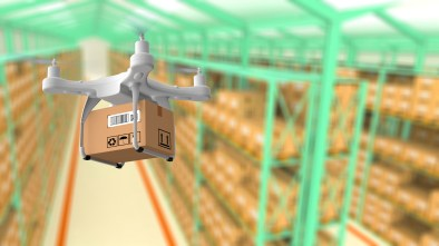 drones in warehouses delivery Flytbase retail