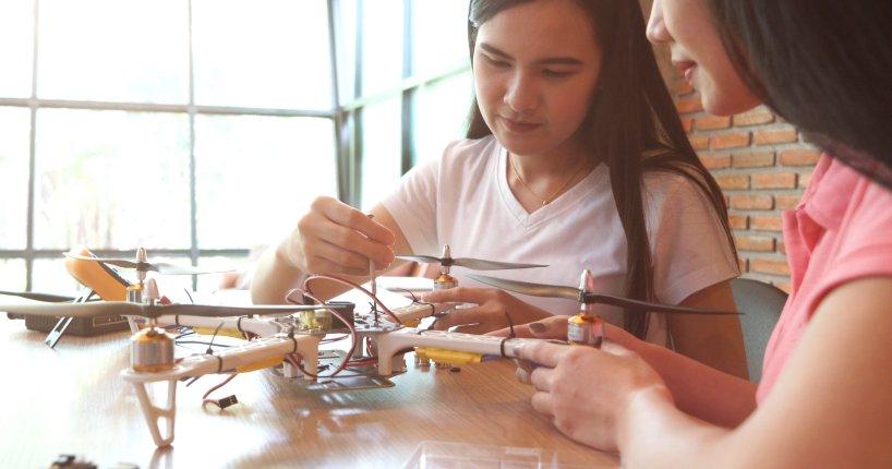 drone curriculum STEM educational program classroom