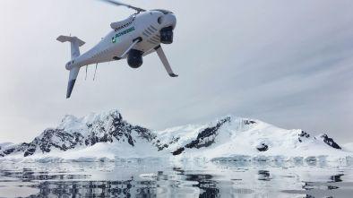 Schiebel S-100 camcopter arctic