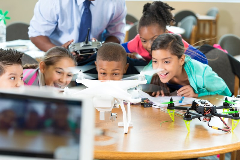 donate drone school DJI Phantom kids altruistic donation tax writeoff