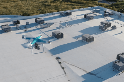 aerial roof inspection DJI phantom drone