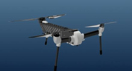 Flightwave Aerospace Jupiter tricopter