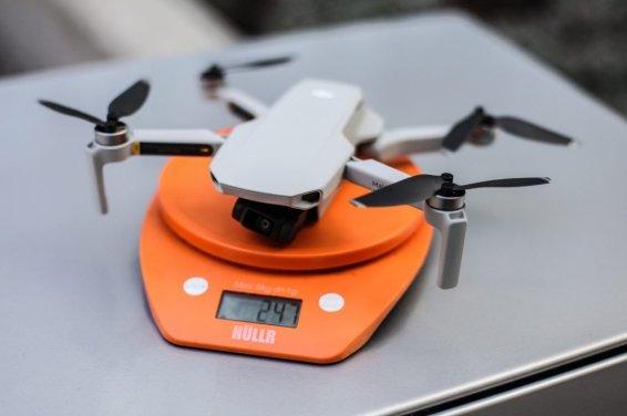 DJI Mavic Mini 247 grams