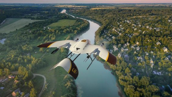 UPS drone delivery Flight Forward