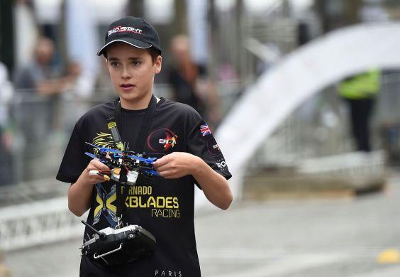 drone summer camp Luke Bannister