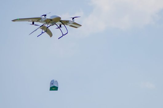 Wingcopter coronavirus hackathon