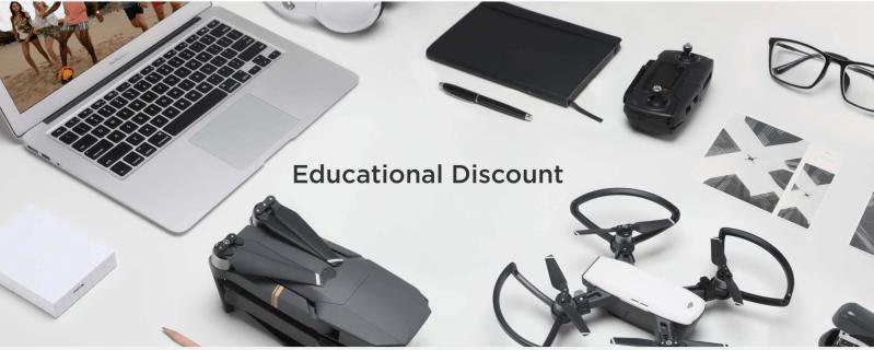 DJI Educational Discount DJI online store