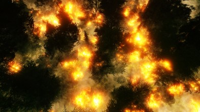 firefighting drones wildfire management emergency