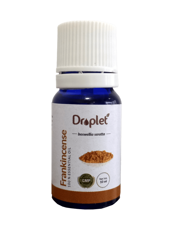 frankincense essential oil by droplet care