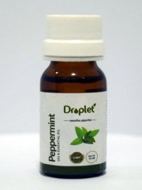 peppermint essential oil for aromatherapy