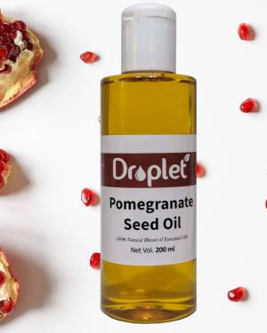 pomegrante seed oil by droplet care