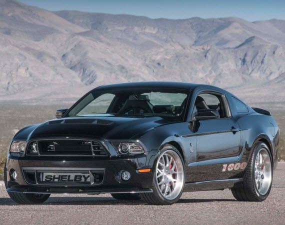 2013 SHELBY 1000 – MOST POWERFUL FORD MUSTANG TO DATE