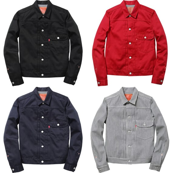 SUPREME X LEVI'S – TYPE 1 JACKET | AVAILABLE NOW