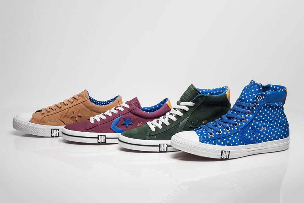 Converse, Undftd, Undefeated, Footwear, Converse Star Player, Converse Pro Leather