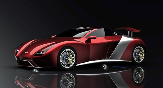 WEBER – FASTER ONE – WORLD'S FASTEST STREET-LEGAL SPORTS CAR