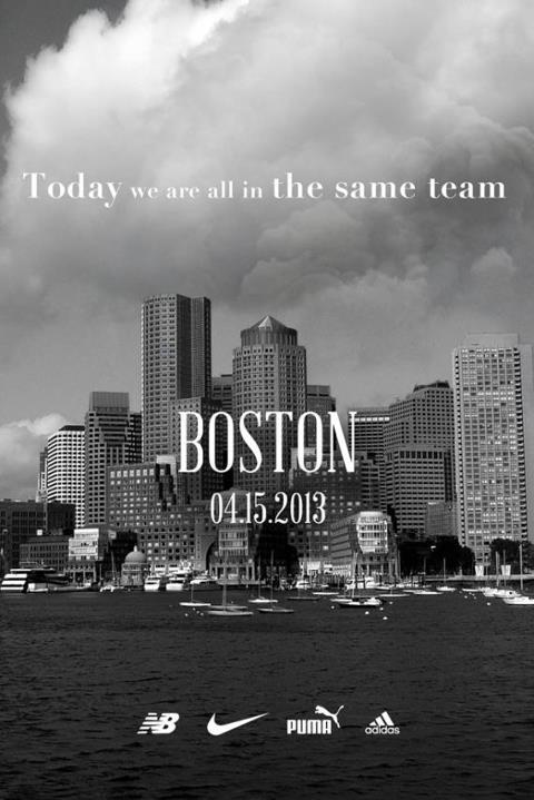 Nike, adidas, New Balance and PUMA Team Up for Boston