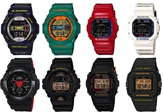 CASIO G-SHOCK – APRIL 2013 | NEW RELEASES