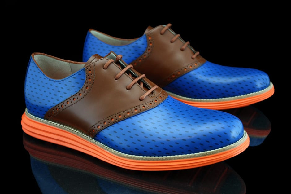 """Cole Haan Lunargrand """"Knicks"""" by Revive Customs for Spike Lee"""