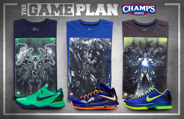 THE GAME PLAN BY CHAMPS SPORTS – NIKE BASKETBALL SUPERHUMAN COLLECTION