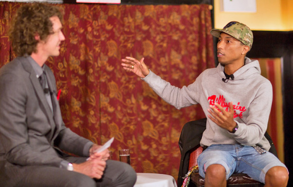FAST COMPANY – PHARRELL INTERVIEW AT INNOVATION UNCENSORED DINNER NEW YORK