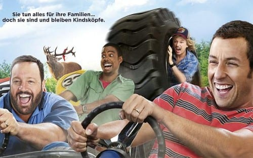 The movie trailer for grown ups 2