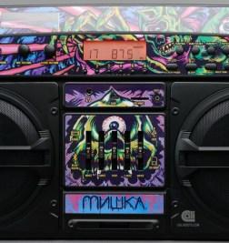 MISHKA X LASONIC – BLUETOOTH GHETTO BLASTER SPEAKER