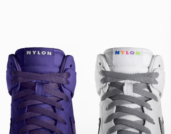 NYLON X NIKE ID DUNK HI & LO