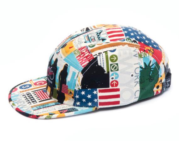 "CHARI & CO. NYC – ""BIG APPLE"" 5-PANEL CAP"