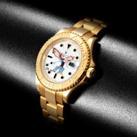 "DRxRomanelli x Bamford Watch Department Special Edition ""Popeye"" Rolex Yachtmaster"