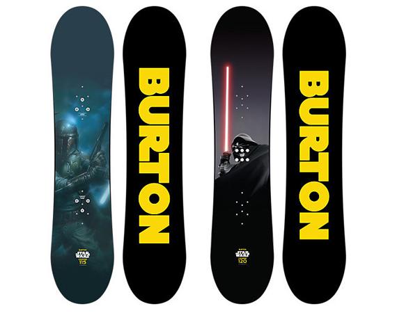 STAR WARS X BURTON CHOPPER SNOWBOARDS