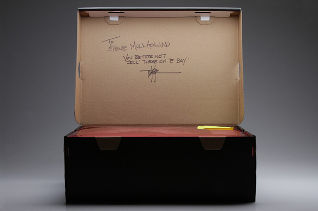 Tinker Hatfield's Custom Pair of Air Jordan 11s for Sole Collector's Steve Mulholland