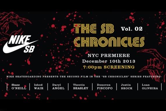"NIKE SB – ""THE SB CHRONICLES VOL. 2″ - NEW YORK CITY PREMIERE EVENT"