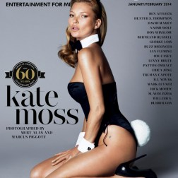 PLAYBOY 60TH ANNIVERSARY ISSUE FEATURING KATE MOSS