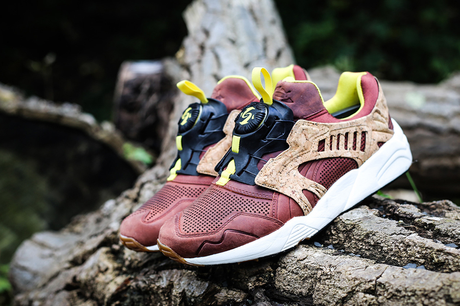 """PUMA MMQ 2014 Spring Leather Disc Cage """"Cork"""" Pack"""